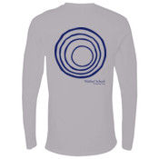 ADULT Long Sleeve Crew with CirclePlus/Navy